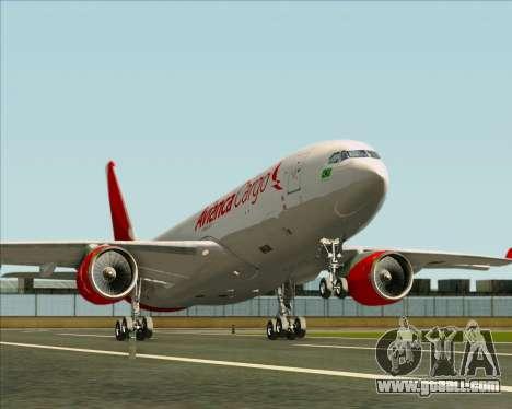 Airbus A330-243F Avianca Cargo for GTA San Andreas wheels