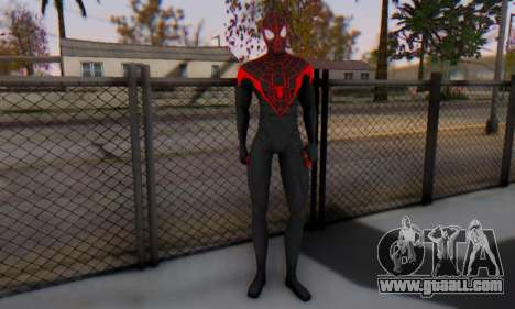 Skin The Amazing Spider Man 2 - New Ultimate for GTA San Andreas second screenshot