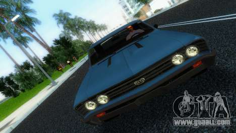 Chevrolet Chevelle SS 1967 for GTA Vice City back left view