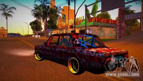 VAZ 2105 Drift for GTA San Andreas left view