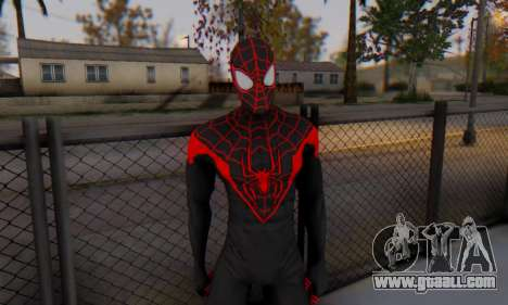 Skin The Amazing Spider Man 2 - New Ultimate for GTA San Andreas