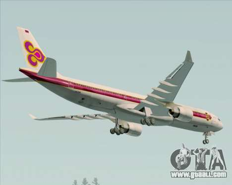 Airbus A330-300 Thai Airways International for GTA San Andreas engine