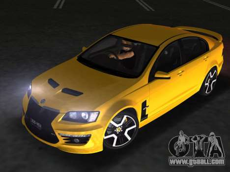Holden HSV GTS 2011 for GTA Vice City inner view