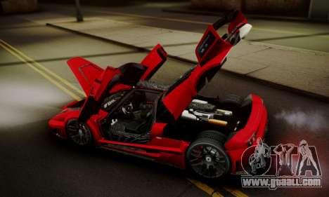 Ferrari Gemballa MIG-U1 for GTA San Andreas interior