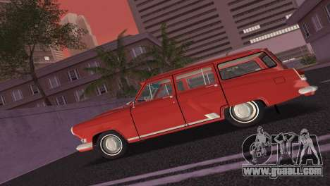 GAS 22 Volga 1965 for GTA Vice City back view