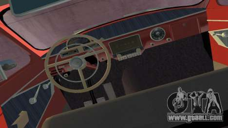 GAS 22 Volga 1965 for GTA Vice City right view