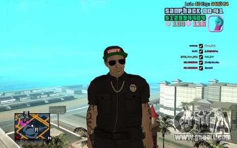 C-HUD GTA Vice City edited SampHack for GTA San Andreas
