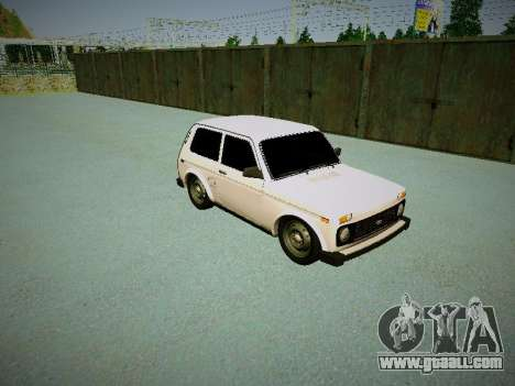 VAZ 2121 for GTA San Andreas left view