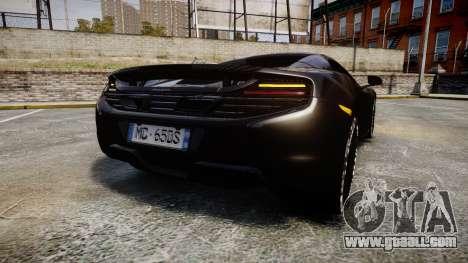McLaren 650S Spider 2014 [EPM] Goodyear for GTA 4 back left view