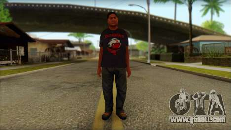 GTA 5 Ped 19 for GTA San Andreas