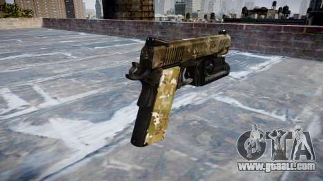 Gun Kimber 1911 DEVGRU for GTA 4 second screenshot