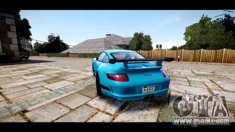 Porsche 911 GT3 RS for GTA 4 back left view