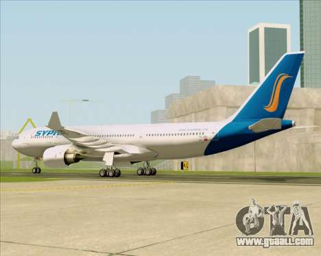 Airbus A330-200 Syphax Airlines for GTA San Andreas right view