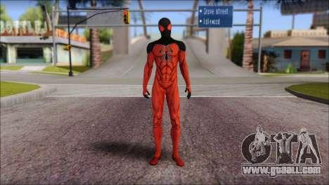 Scarlet 2012 Spider Man for GTA San Andreas