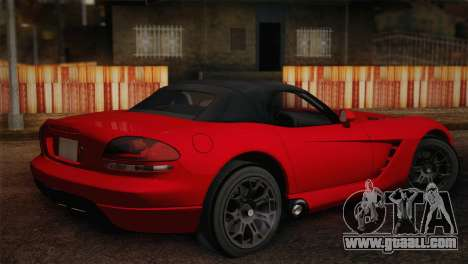 Dodge Viper SRT-10 2003 for GTA San Andreas left view