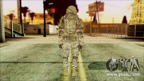 Ranger (CoD: MW2) v3 for GTA San Andreas second screenshot