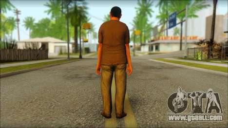GTA 5 Ped 19 for GTA San Andreas second screenshot