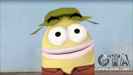 Campguy from Sponge Bob for GTA San Andreas third screenshot