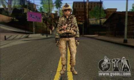 Task Force 141 (CoD: MW 2) Skin 17 for GTA San Andreas