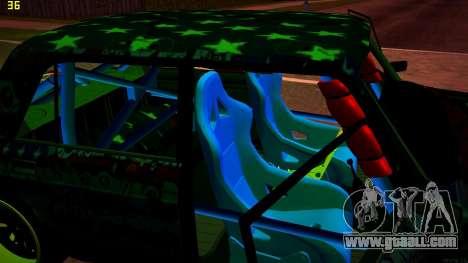 VAZ 2105 Drift for GTA San Andreas back view