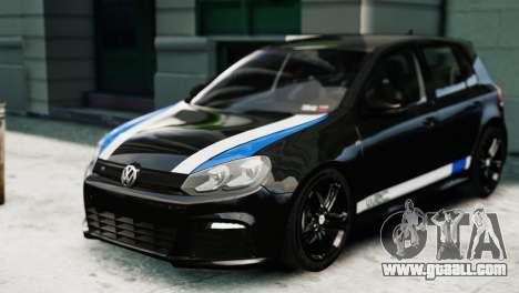 Volkswagen Golf R 2010 Polo WRC Style PJ1 for GTA 4