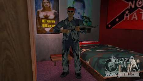 Camo Skin 06 for GTA Vice City second screenshot