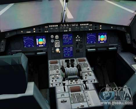 Airbus A330-300 Virgin Atlantic Airways for GTA San Andreas interior