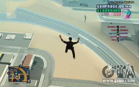 C-HUD GTA Vice City edited SampHack for GTA San Andreas third screenshot