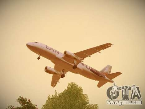 Airbus A320-214 LAN Airlines 100th Plane for GTA San Andreas interior