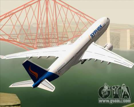 Airbus A330-200 Syphax Airlines for GTA San Andreas engine