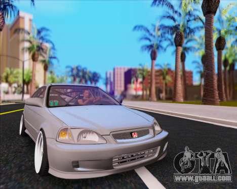 Honda Civic EM1 V2 for GTA San Andreas