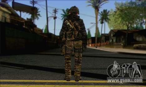 Task Force 141 (CoD: MW 2) Skin 8 for GTA San Andreas second screenshot