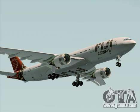 Airbus A330-200 Fiji Airways for GTA San Andreas inner view