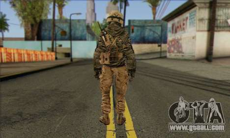 Task Force 141 (CoD: MW 2) Skin 17 for GTA San Andreas second screenshot
