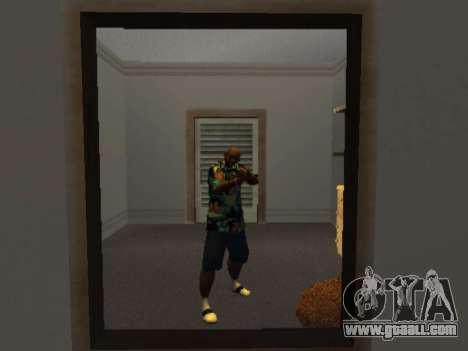 Hawaiian shirt like max Payne for GTA San Andreas second screenshot