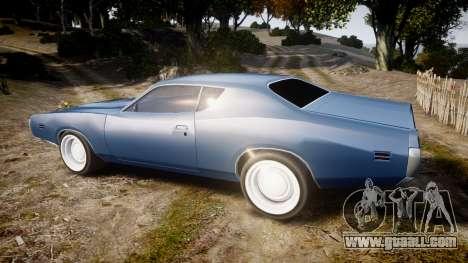 Dodge Charger 1971 v2.0 for GTA 4 left view
