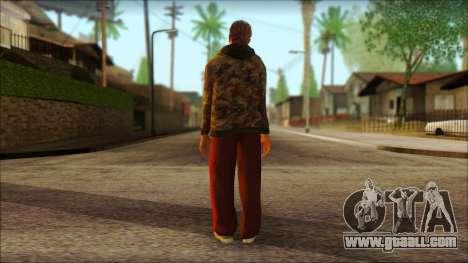 GTA 5 Ped 9 for GTA San Andreas second screenshot