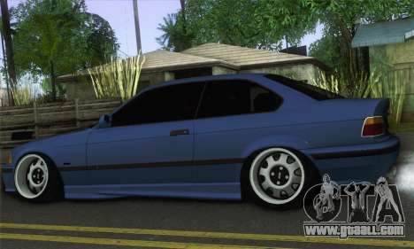 BMW M3 E36 for GTA San Andreas left view
