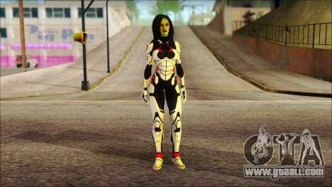 Guardians of the Galaxy Gamora v2 for GTA San Andreas