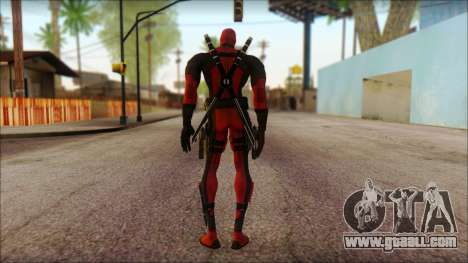 Classic Deadpool The Game Cable for GTA San Andreas second screenshot