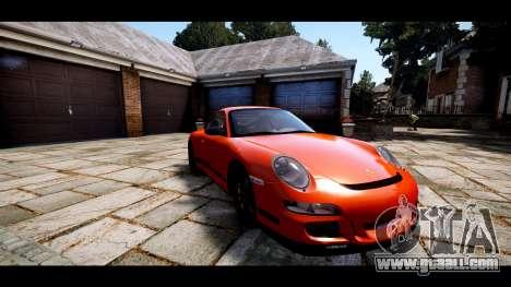 Porsche 911 GT3 RS for GTA 4 inner view