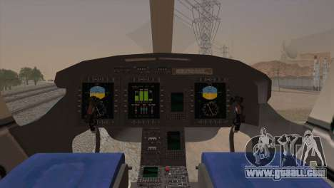 Bell 429 v2 for GTA San Andreas back left view