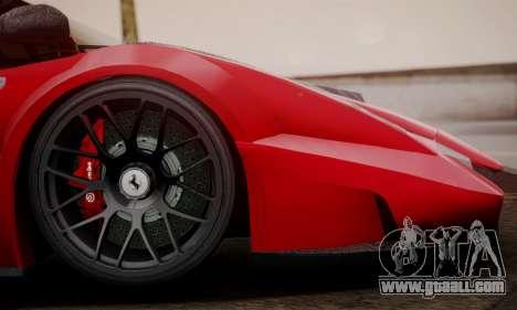 Ferrari Gemballa MIG-U1 for GTA San Andreas back left view