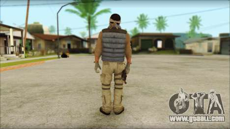 Arabian Resurrection Skin from COD 5 for GTA San Andreas second screenshot