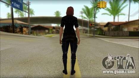 Mass Effect Anna Skin v7 for GTA San Andreas second screenshot