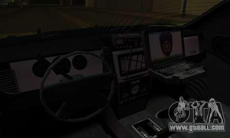 Vapid Police Interceptor from GTA V for GTA San Andreas right view