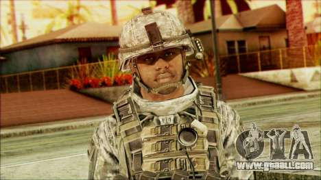 Ranger (CoD: MW2) v5 for GTA San Andreas third screenshot