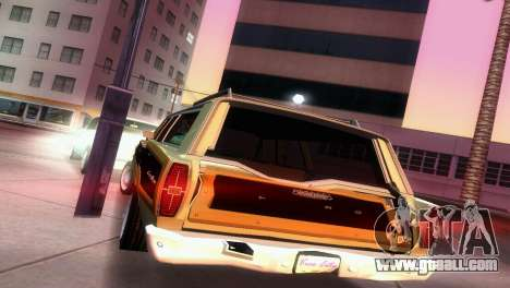 Ford Country Squire for GTA Vice City side view