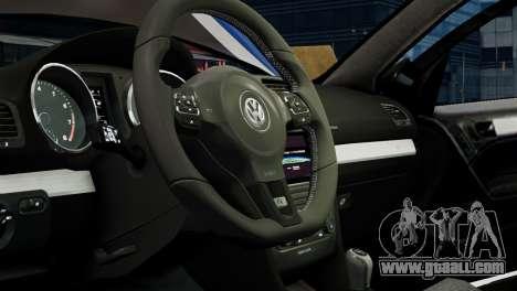 Volkswagen Golf R 2010 Polo WRC Style PJ1 for GTA 4 inner view
