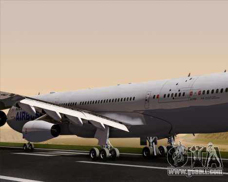 Airbus A340-311 House Colors for GTA San Andreas engine